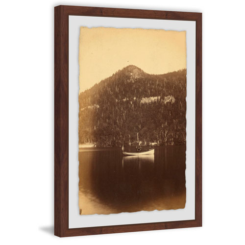 Marmont Hill Echo Lake and Steamboat 18 x 12 In. Framed Painting Print