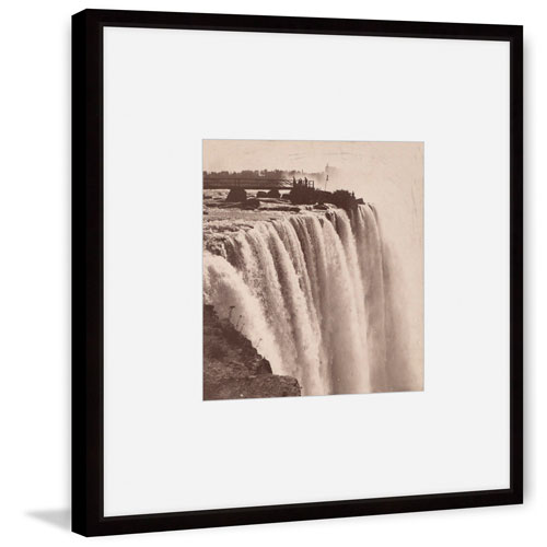 Marmont Hill Horse Shoe Falls from Goat Island 48 x 48 In. Framed Painting Print