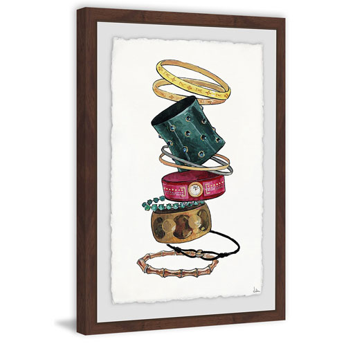 Marmont Hill Admirable 36 x 24 In. Framed Painting Print