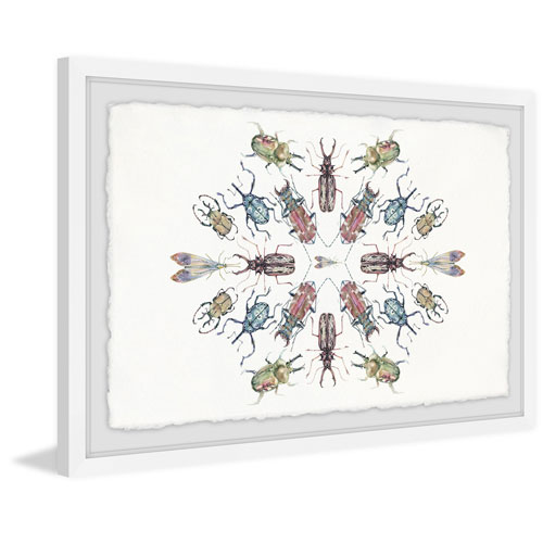 Marmont Hill Bug Dance 16 x 24 In. Framed Painting Print