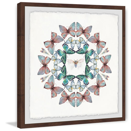 Marmont Hill Bug in the Middle 12 x 12 In. Framed Painting Print