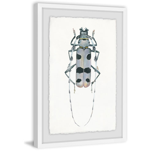 Marmont Hill Spotted Bug 24 x 16 In. Framed Painting Print