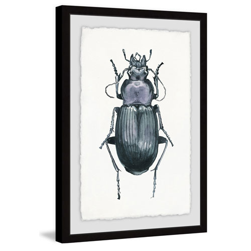 Marmont Hill Armored Bug 24 x 16 In. Framed Painting Print