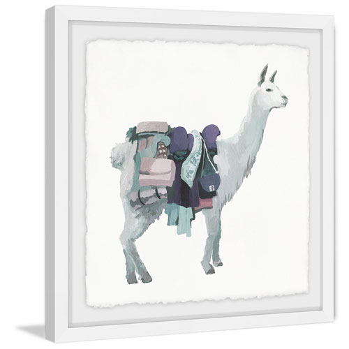 Marmont Hill Fashionista II 40 x 40 In. Framed Painting Print