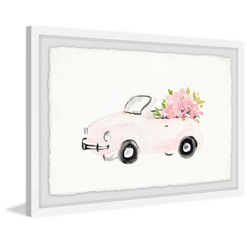 Marmont Hill Pink Beauty 30 x 45 In. Framed Painting Print