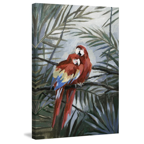 Marmont Hill Friends for Life 60 x 40 In. Painting Print on Wrapped Canvas