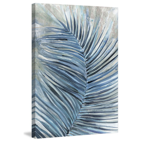 Marmont Hill Blue Spirit 12 x 8 In. Painting Print on Wrapped Canvas