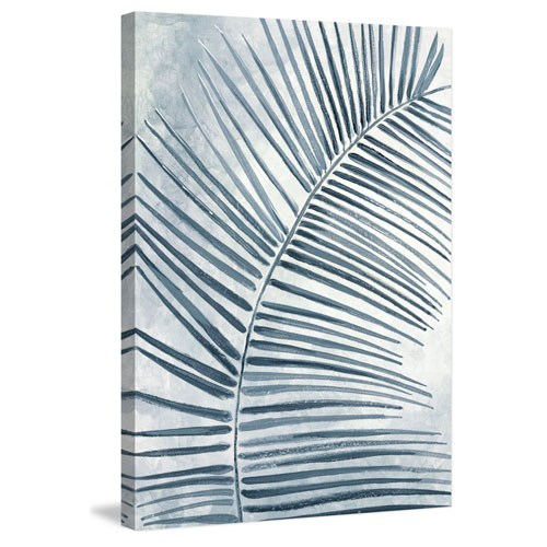 Marmont Hill Bluish 60 x 40 In. Painting Print on Wrapped Canvas