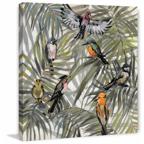 Marmont Hill The Joy in the Jungle I 32 x 32 In. Painting Print on Wrapped Canvas