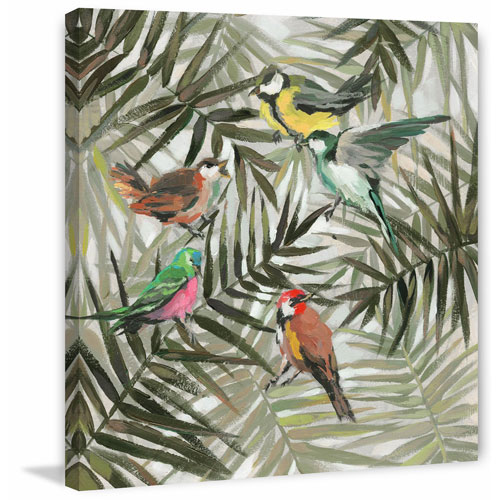 Marmont Hill The Joy in the Jungle II 24 x 24 In. Painting Print on Wrapped Canvas