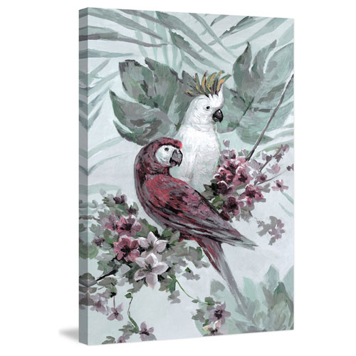 Marmont Hill Tropical Sweetheart 18 x 12 In. Painting Print on Wrapped Canvas
