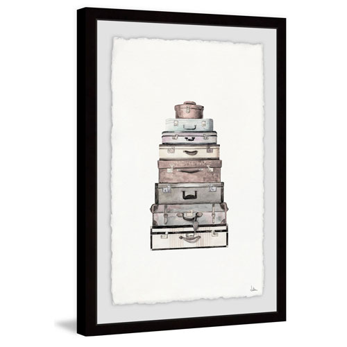 Marmont Hill Everyday Is a Journey 30 x 20 In. Framed Painting Print