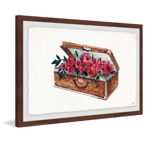 Marmont Hill Something Nice 16 x 24 In. Framed Painting Print