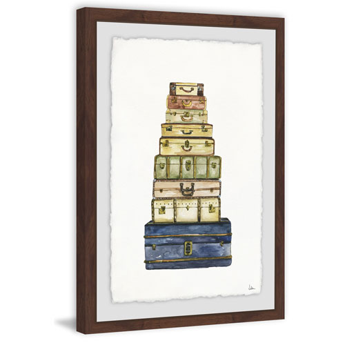 Marmont Hill When Im Abroad 24 x 16 In. Framed Painting Print