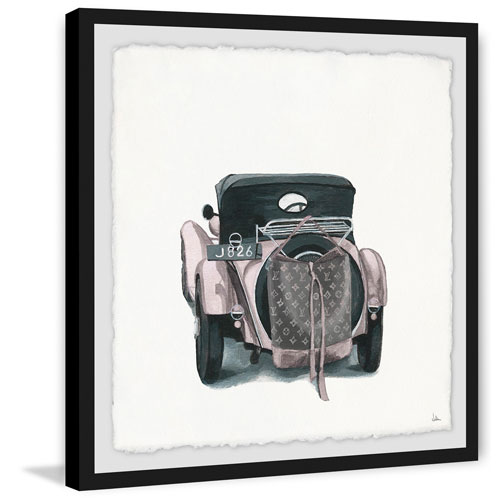 Marmont Hill Travel Light 18 x 18 In. Framed Painting Print