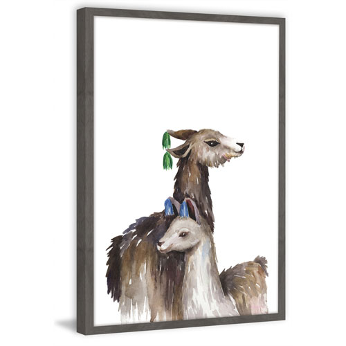 Marmont Hill Ear Tassels 18 x 12 In. Framed Painting Print