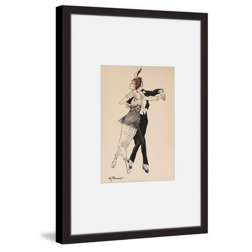 Marmont Hill The Waltz 18 x 12 In. Framed Painting Print