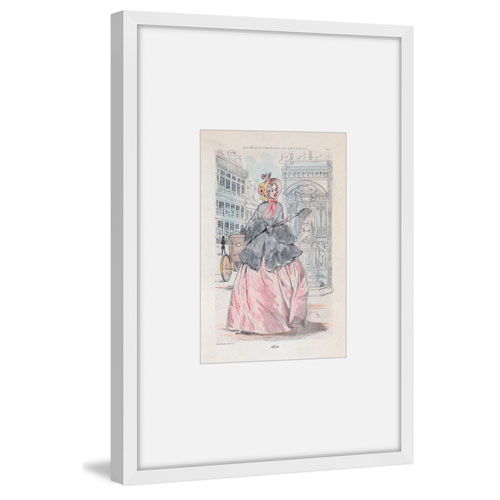 Marmont Hill Sunday Attire 45 x 30 In. Framed Painting Print