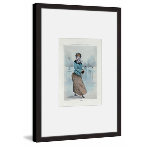 Marmont Hill Winter Day 18 x 12 In. Framed Painting Print