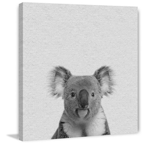 Marmont Hill Playful Koala II 40 x 40 In. Painting Print on Wrapped Canvas