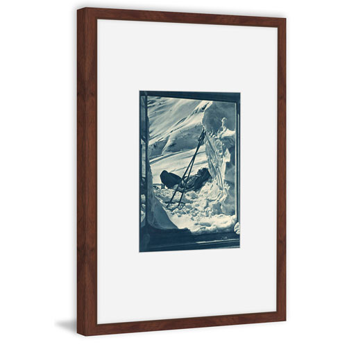Marmont Hill Ski Tired 18 x 12 In. Framed Painting Print