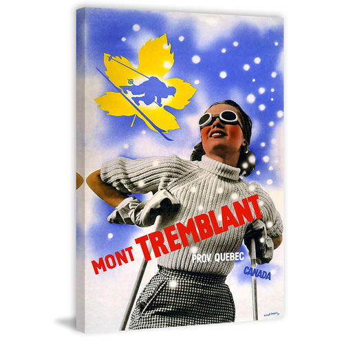 Marmont Hill Mont Tremblant 36 x 24 In. Painting Print on Wrapped Canvas