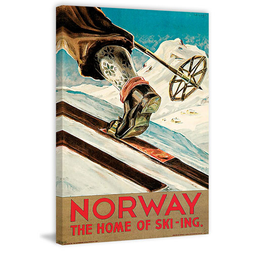 Marmont Hill Norway 36 x 24 In. Painting Print on Wrapped Canvas