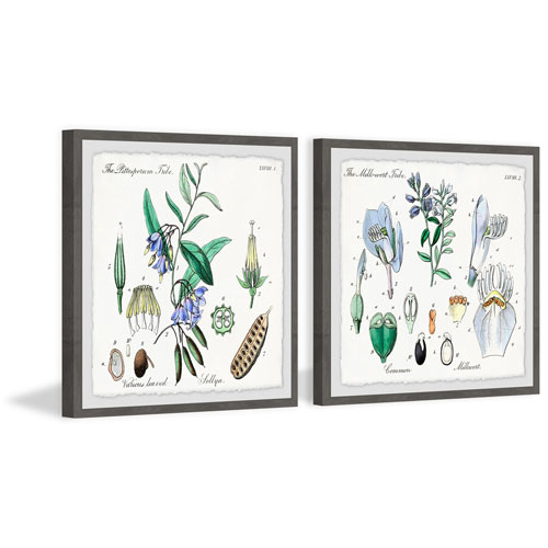 Marmont Hill We Are Bellflowers 18 x 36 In. Diptych