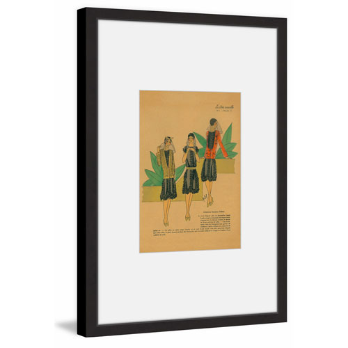 Marmont Hill Night Out II 12 x 8 In. Framed Painting Print