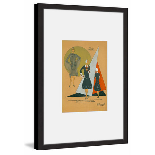 Marmont Hill Business Wear 36 x 24 In. Framed Painting Print