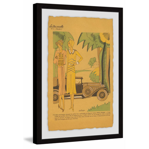 Marmont Hill Gal Pals 60 x 40 In. Framed Painting Print