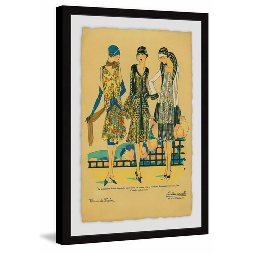 Marmont Hill Fashion Explosion 36 x 24 In. Framed Painting Print