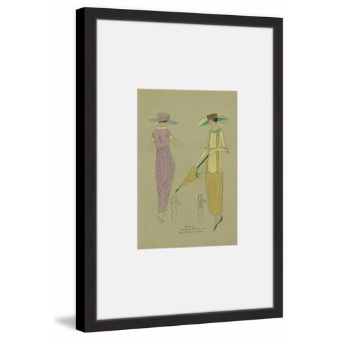 Marmont Hill Passing Friends 30 x 20 In. Framed Painting Print