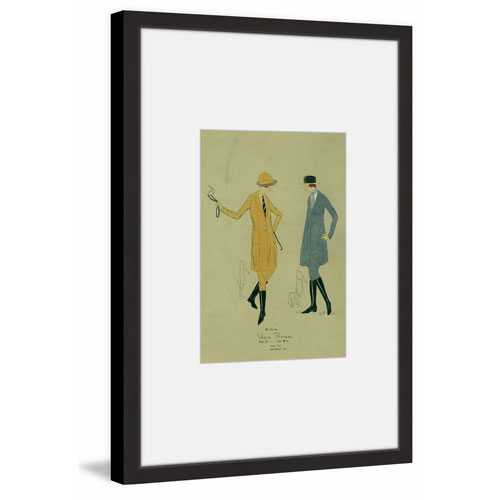 Marmont Hill Horseback Riding Attire 36 x 24 In. Framed Painting Print
