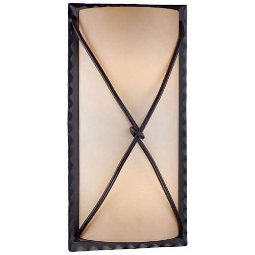 Mill & Mason Norwood Bronze Two-Light Fluorescent Outdoor Wall Sconce