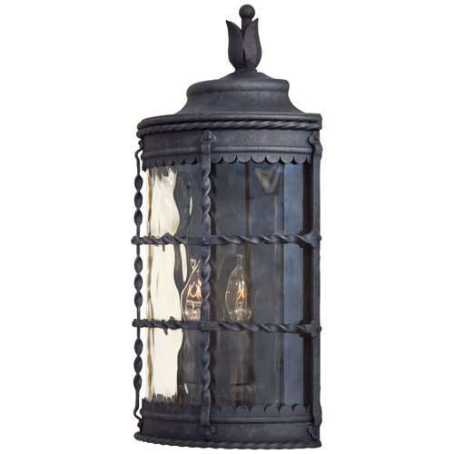 Kingswood Iron Two-Light Outdoor Wall Sconce