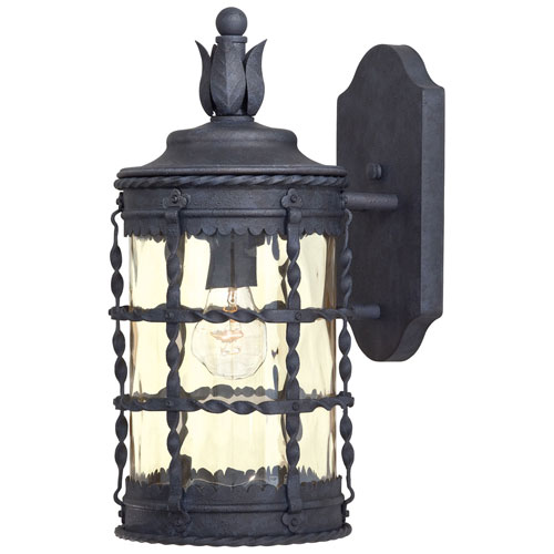 Kingswood Iron One-Light Outdoor Wall Sconce