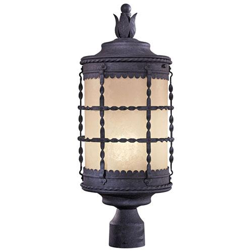 Mill & Mason Kingswood Iron One-Light Fluorescent Outdoor Post Mount