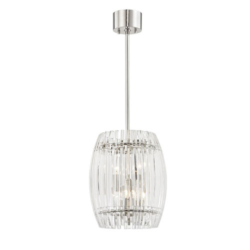 Clifton Polished Nickel Four-Light Pendant