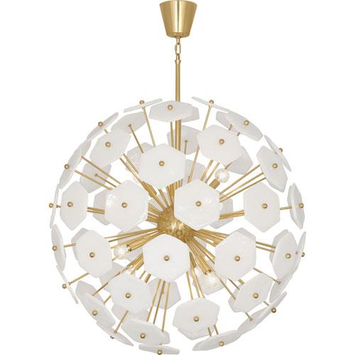 Mill mason bancroft brass 33 inch 12 light chandelier 899 bellacor mill mason bancroft brass 33 inch 12 light chandelier aloadofball Images