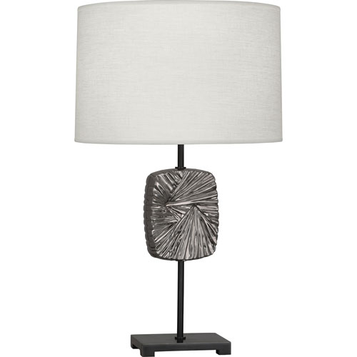 Norris Patina Bronze and Antique Silver 27-Inch One-Light Table Lamp