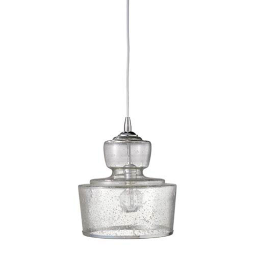 Penrose Clear Glass 10-Inch One-Light Pendant
