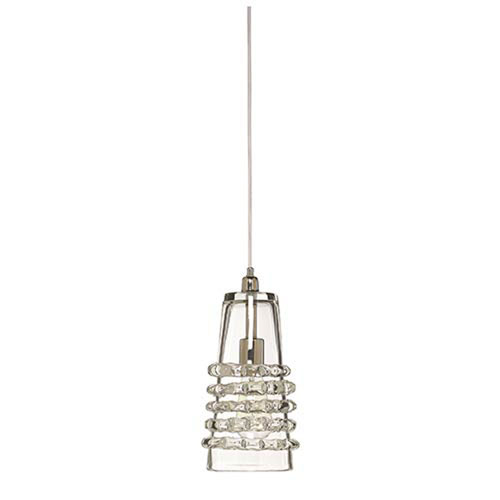 Mill & Mason Harcourt Clear Six-Inch  One-Light Mini Pendant