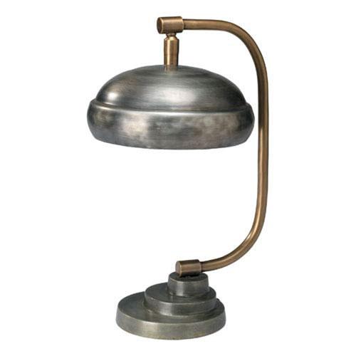 Egerton Gun Metal One-Light Table Lamp