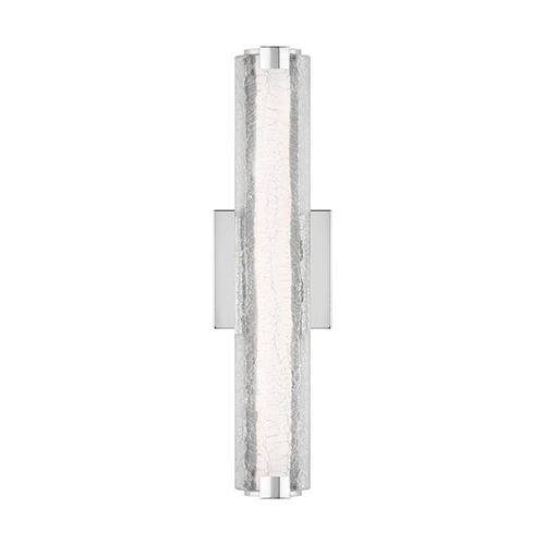 Clyne Chrome 18-Inch LED Wall Sconce