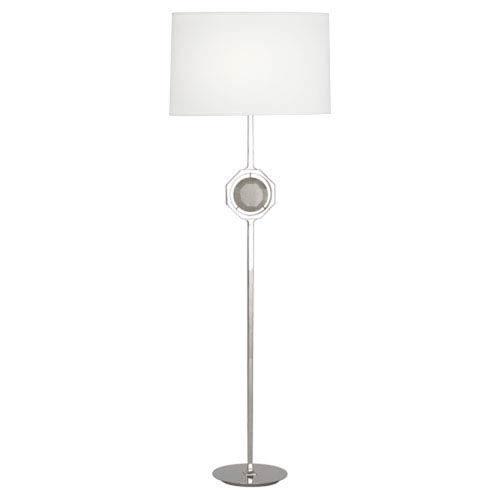 Neptune Polished Nickel One-Light Floor Lamp