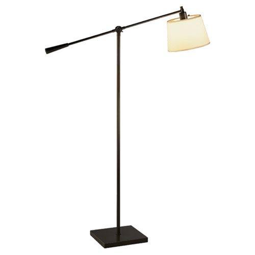 Campbell Dark Bronze One-Light Floor Lamp