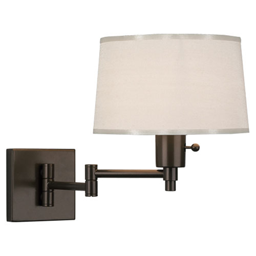 Campbell Dark Bronze One-Light Wall Swinger