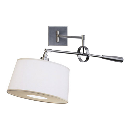 Campbell Gray One-Light Wall Swinger