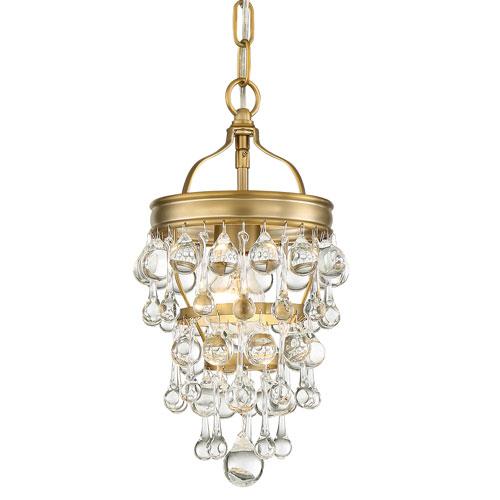 Hopewell Gold One-Light Mini Chandelier